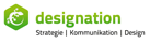 designation Strategie Kommunikation Design